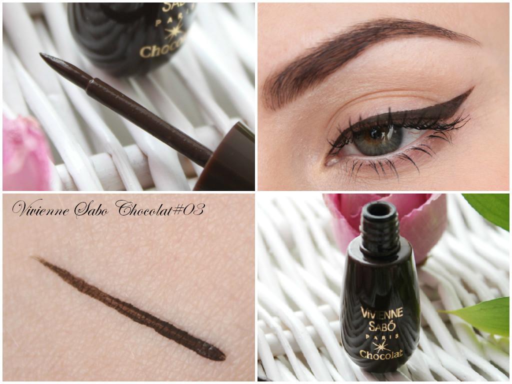 Подводка жидкая Vivienne Sabo Chocolat коричневая