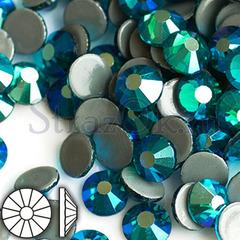 Купите термостразы клеевые Blue Zircon AB голубые в интернет-магазине в Москве