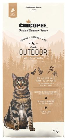 Купить корм CHICOPEE CNL Cat Adult Outdoor Poultry для кошек