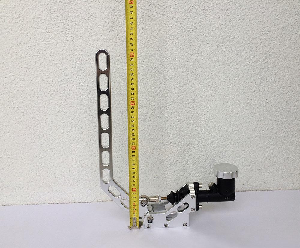 Высота ручки гидравлического вертикального ручника 41 см