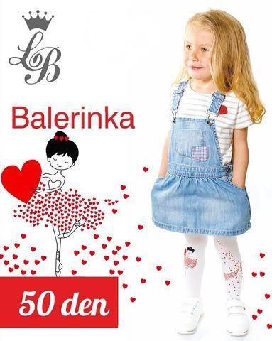Колготки LB BALERINKA (белый) 50 den