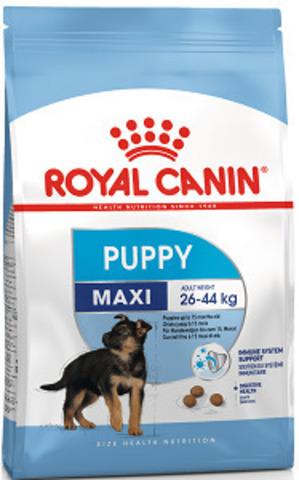 Royal Canin Maxi Puppy сухой корм для щенков крупных пород с 2 до 15 месяцев