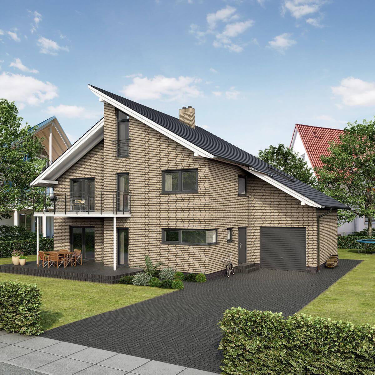 Feldhaus Klinker - R691NF14, Sintra Perla, 240x14x71 - Клинкерная плитка для фасада и внутренней отделки