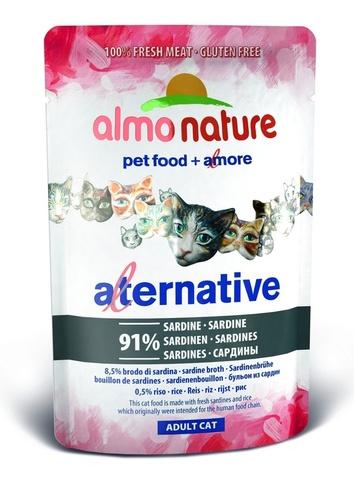 Паучи Almo Nature Alternative - Sardines