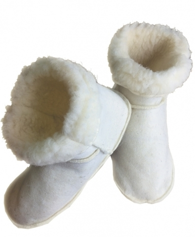 Меховые носки-угги из овечьей шерсти Скипофит НИИ Натуротерапии