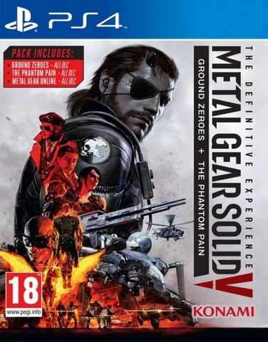 Metal Gear Solid V: Definitive Experience (PS4, русские субтитры)