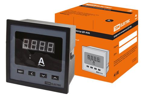 Цифровой амперметр ЦП-А96 0-9999А-0,5-Р TDM