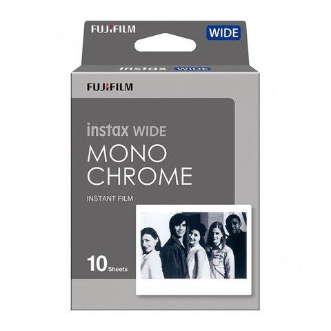 Картридж для камеры Fujifilm Instax Wide MONOCHROME (10/PK), 10 снимков, черно-белый