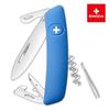 Уценка! Швейцарский нож SWIZA D03 Standard, 95 мм, 11 функций, синий