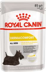 Паштет для взрослых собак, Royal Canin Dermacomfort, при раздражениях и зуде, связанных с чувствительностью кожи