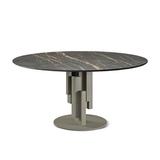 Обеденный стол skyline keramik round, Италия