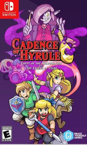 Cadence of Hyrule: Crypt of the NecroDancer (Nintendo Switch, русская версия)