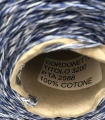 Хлопок CORDONETTO 320 сине-белый мулине