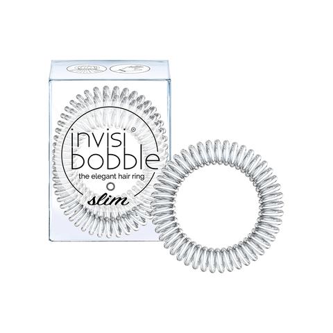 invisibobble Резинка-браслет для волос SLIM Chrome Sweet Chrome