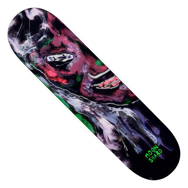 Дека для скейтборда MOON SHARD Twin Left