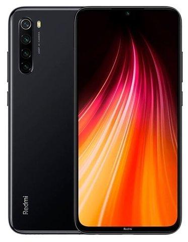 Смартфон Xiaomi Redmi Note 8 (2021) 4/128GB, черный космос