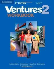 Ventures Second Edition 2 Workbook with Audio CD