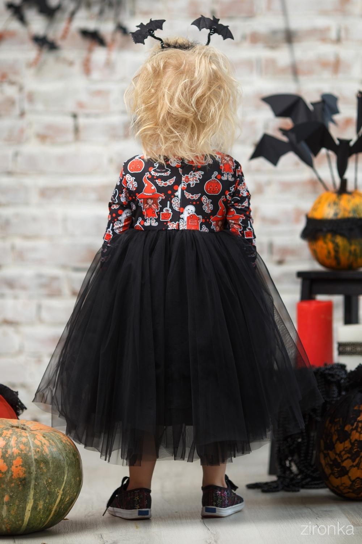 Платье разноцветное для девочки 38-8026-1