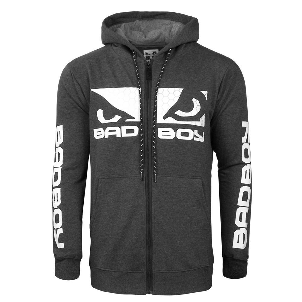 Толстовки/Олимпийки Толстовка Bad Boy G.P.D Hoodie - Charcoal 1.jpg