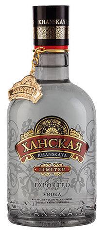 Водка ХАНСКАЯ LIMITED EDITION 0,5 л