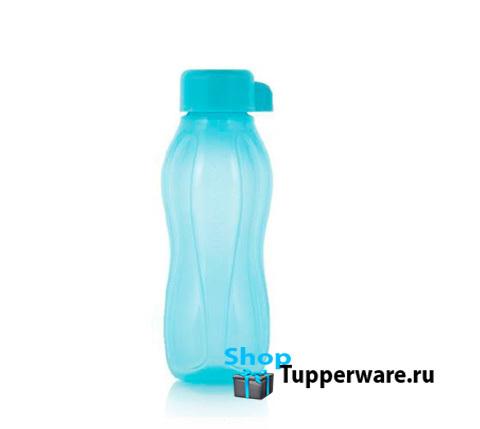 Бутылка Эко мини 310 мл в светло-голубом цвете