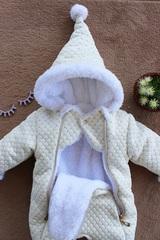 Утепленный комбинезон для новорожденного winter (на махре)