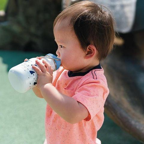 Детская бутылка Klean Kanteen Kid Classic Sippy 12oz (355 мл) Pool Party