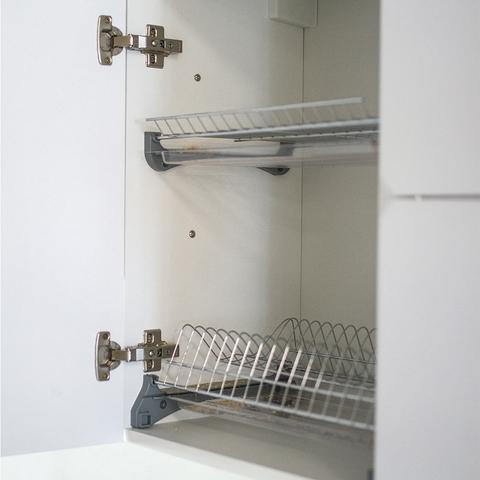 Верхний шкаф с сушилкой, 720Х450 мм / PushToOpen