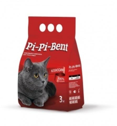 Наполнитель Pi-Pi-Bent Классик 3 кг