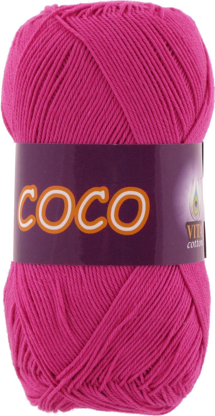 Пряжа Vita Coco 3885 фуксия