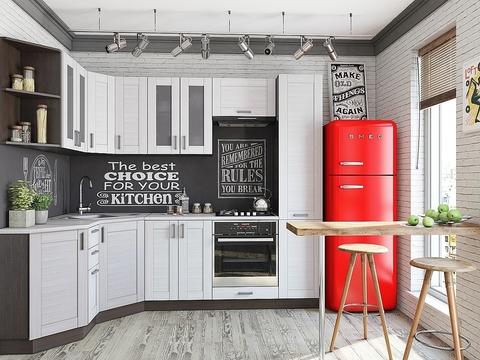 Кухня Лофт-4 snow veralinga