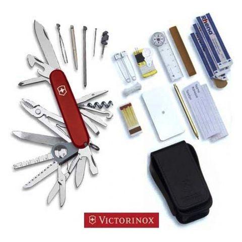 Набор инструментов Victorinox SOS-Set (1.8810) 91мм 33 функции красные
