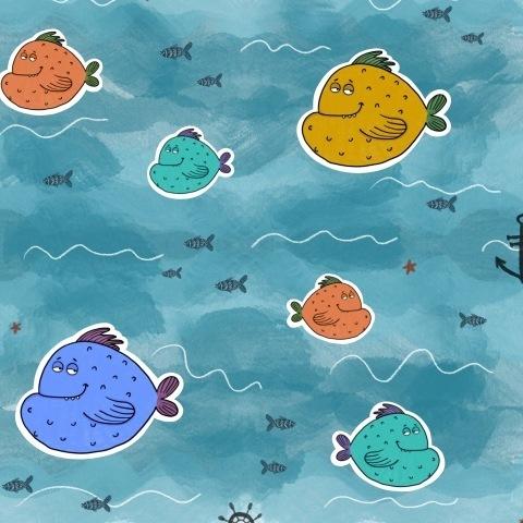 Рыбки в отпуске