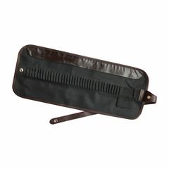 Пенал-свиток для карандашей и кистей, 40 отделений, черный цвет