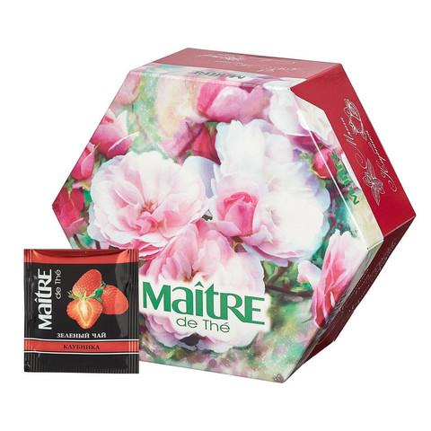 Чай Maitre Цветы ассорти 60 пакетов