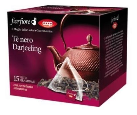 Çay \ Чай \ Black Tea Coop Earl Grey (paket) 15 ədəd