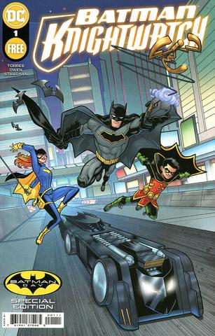 Batman Knightwatch Bat-Tech Batman Day Special Edition #1