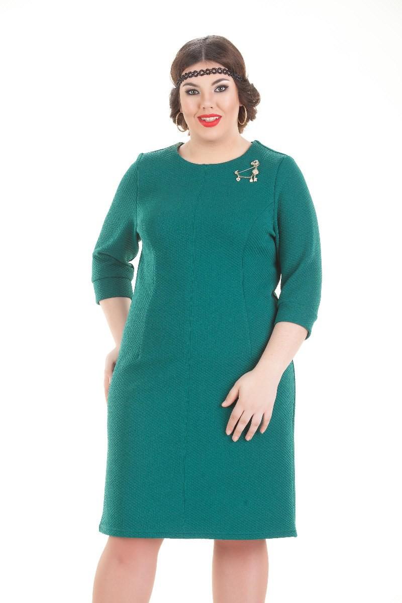 Платья Платье Триана зеленый 1245.jpg