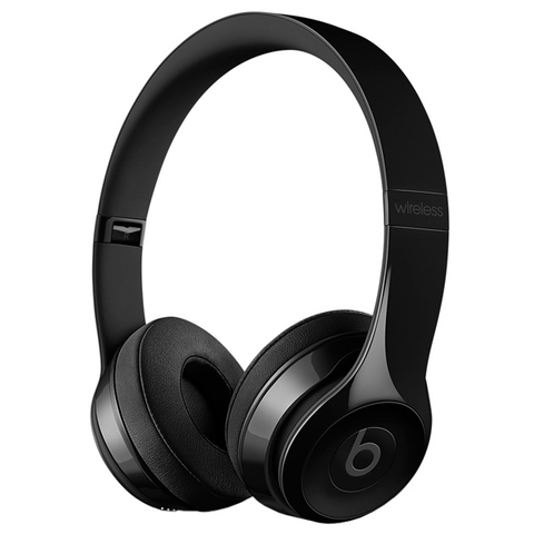 Наушники Bluetooth Beats Beats Solo3 Wireless On-Ear Gloss Black/Черные Глянцевые (MNEN2ZE/A)