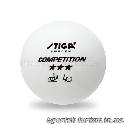 Шарик для настольного тенниса Stiga Competition ***