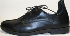 Туфли женские кожаные EFA F-161