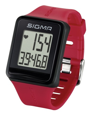 Пульсометр Sigma ID.GO красный (rouge)