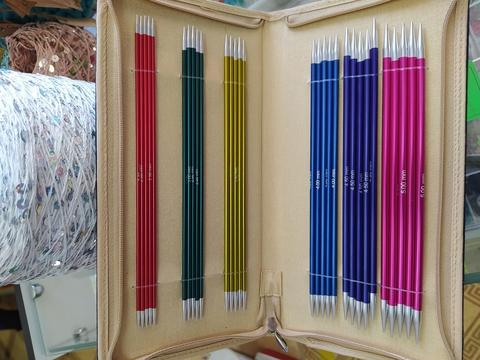 Набор чулочных спиц KnitPro Zing