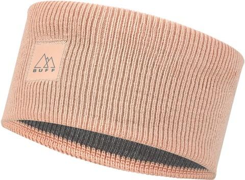 Повязка Buff Crossknit Headband Solid Pale Pink фото 1