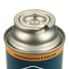 Баллон цанговый Нашгаз NG-220 для газовой горелки 220 гр - 2