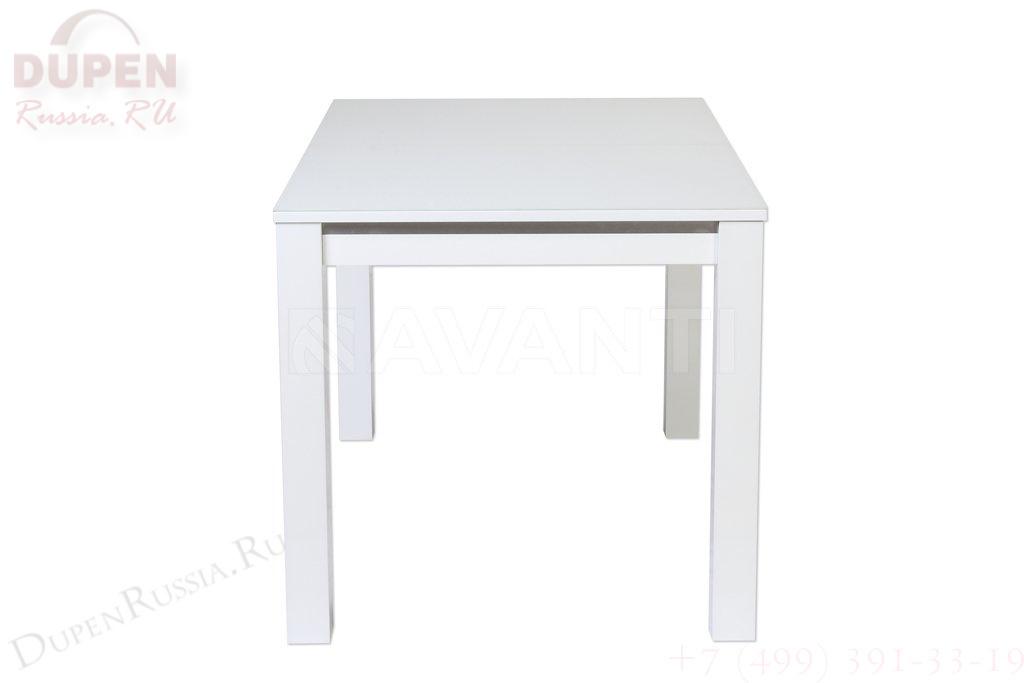 Стол обеденный AVANTI FIESTA (130) SUPER WHITE (белый)
