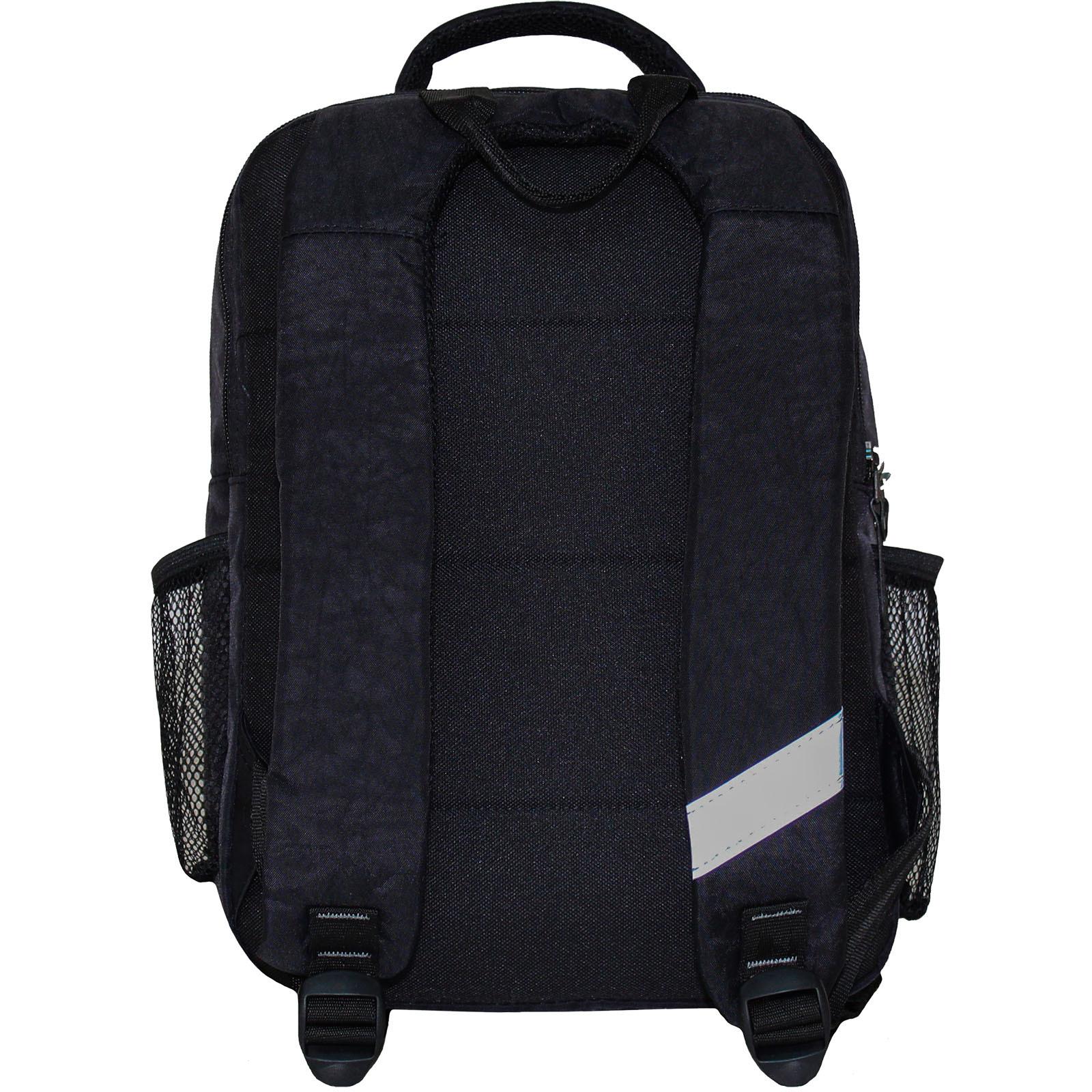 Рюкзак школьный Bagland Школьник 8 л. Черный (машина 23) (00112702)
