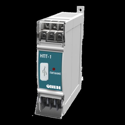 НПТ-1 нормирующий преобразователь на DIN рейку
