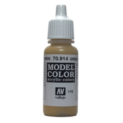 Model Color Green Ochre 17 ml.