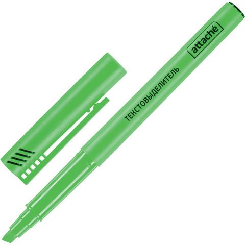 Текстовыделитель Attache зеленый (толщина линии 1-3 мм)